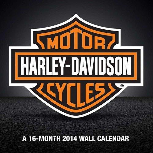 9781438825670: Harley-Davidson Motorcycles 2014 Calendar