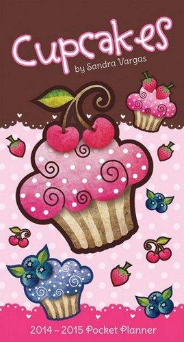 9781438828794: Cupcakes - Sandra Vargas 2014 Pocket Calendar
