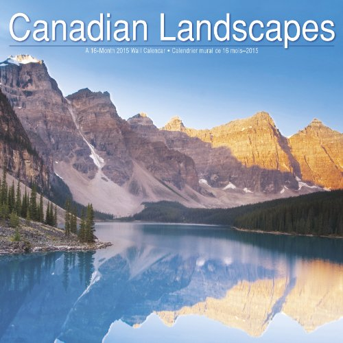 Canadian Landscapes 2015 Wall Calendar: Trends International