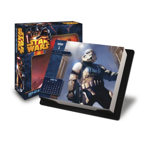 9781438831817: Star Wars Saga 2015 Day-at-a-Time Box Calendar