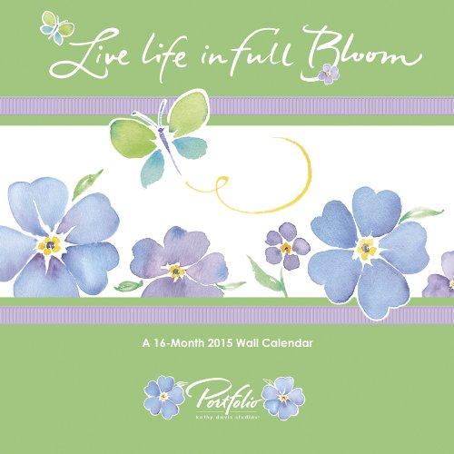 9781438832869: Live Life in Full Bloom 2015 Calendar