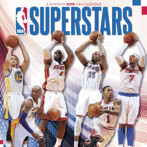 9781438835204: NBA Superstars 2015 Calendar
