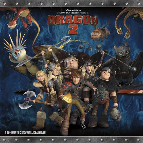 9781438835594: How to Train Your Dragon 2 2015 Calendar