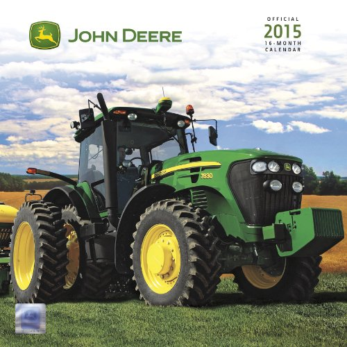 9781438837253: John Deere 2015 Premium Wall Calendar