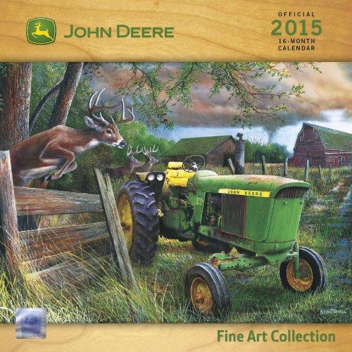 9781438837260: John Deere Fine Art Collection 2015 Calendar