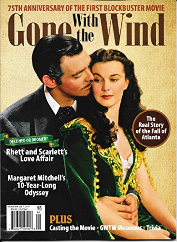 9781438838199: Gone With the Wind 75th Anniversary Magazine Softcover 2014