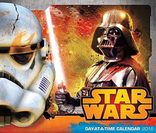 9781438838908: Star Wars Saga Day-at-a-Time 2016 Calendar
