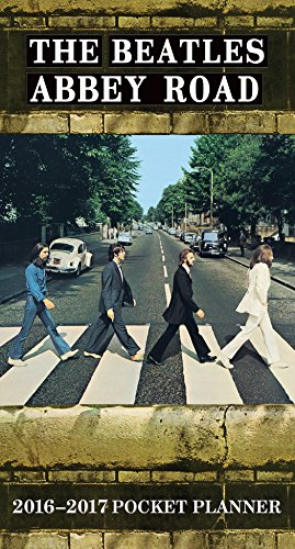 The Beatles Abbey Road 2016-2017 Pocket Planner: Trends International (Corporate Author)