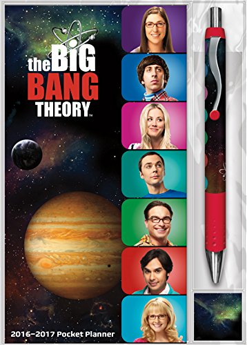 9781438839752: The Big Bang Theory 2016-2017 Pocket Planner: Includes Pen