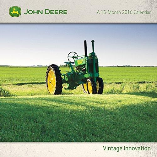 9781438840802: John Deere Vintage Innovation 2016 Calendar