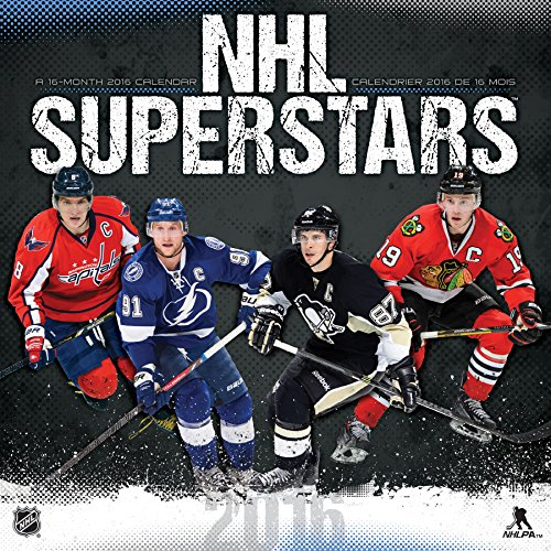 9781438841045: NHL Superstars 2016 Wall Calendar