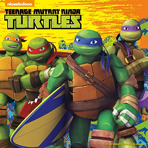 9781438841335: Teenage Mutant Ninja Turtles 2016 Wall Calendar
