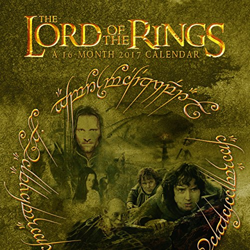 9781438848358: The Lord of the Rings Wall Calendar