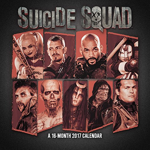 9781438849966: Suicide Squad 2017 Calendar