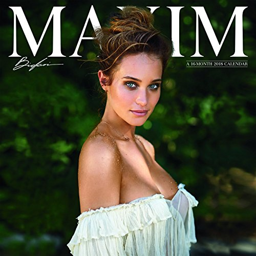 Maxim 2018 Wall Calendar