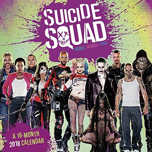 Suicide Squad 2018 Wall Calendar (Calendar)