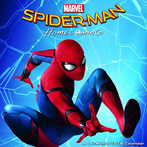 Spider-Man: Homecoming 2018 Wall Calendar (Calendar)