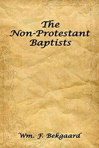 9781438917962: The Non-Protestant Baptists