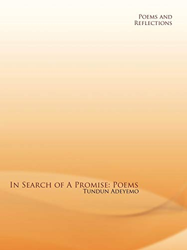 9781438934891: In Search of a Promise: Poems