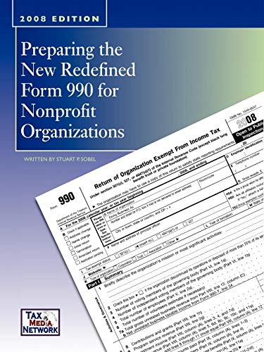 9781438958330: Preparing the New Redefined Form 990 For Nonprofit Organizations