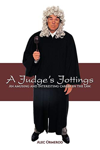 9781438965635: A Judge's Jottings