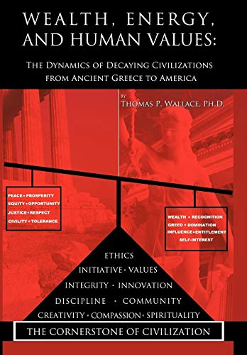 9781438976280: Wealth, Energy, and Human Values: The Dynamics of Decaying Civilizations from Ancient Greece to America