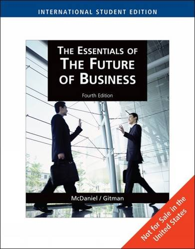 9781439035924: The Essentials of the Future of Business: AND Career Book
