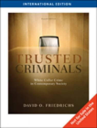 9781439036280: White Collar Crime in Contemporary Society (Fourth Edition)