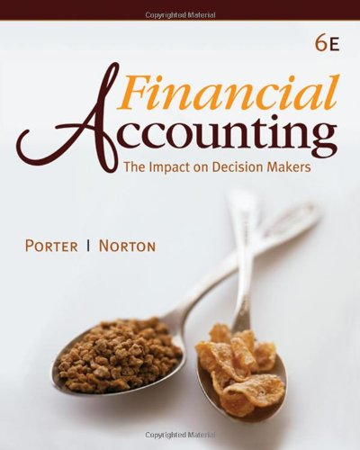 9781439037119: Financial Accounting: The Impact on Decision Makers (with 2009 IFRS Update)