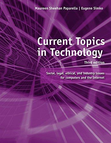 Current Topics in Technology: Paparella, Maureen S.;