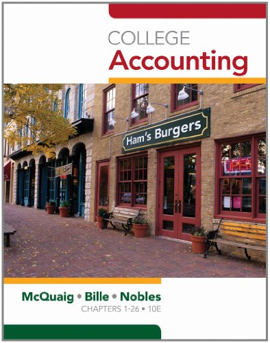 9781439038789: College Accounting, Chapters 1-12 (Available Titles CengageNOW)