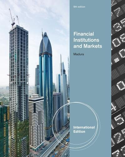 9781439038871: Financial Institutions and Markets