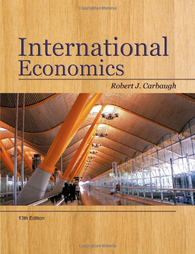 9781439038949: International Economics (Available Titles CourseMate)
