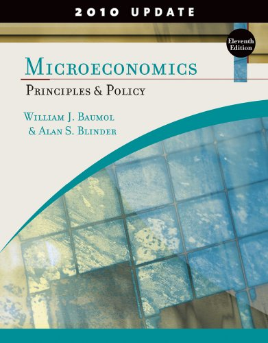 9781439038994: Microeconomics: Principles and Policy, Update 2010 Edition (Available Titles CourseMate)