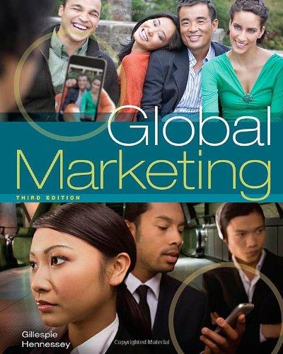 9781439039434: Global Marketing