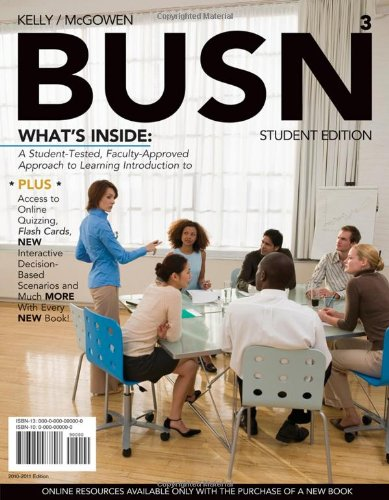 9781439039618: BUSN 3 (with Review Cards and Introduction to Business CourseMate with eBook Printed Access Card) (Available Titles CourseMate)