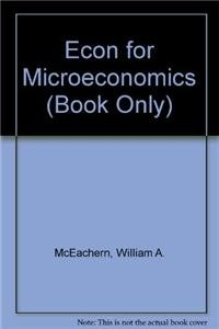 9781439039953: ECON for Microeconomics (Book Only)