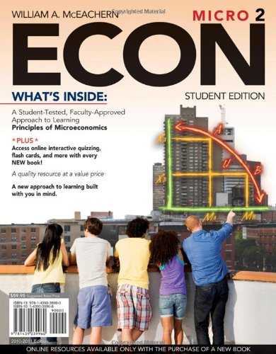 9781439039960: ECON Micro 2 (with Premium Web Site Printed Access Card and Review Cards) (Available Titles CourseMate)