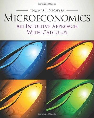 9781439039984: Microeconomics: an Intuitive Approach with Calculus