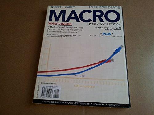 Intermediate Macro Instructor S Edition