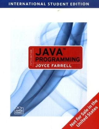 9781439040218: Java Programming