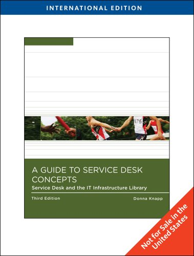 9781439040225: A Guide to Help Desk Concepts, International Edition