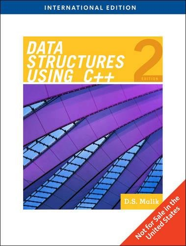 9781439040232: Data Structures Using C++, International Edition