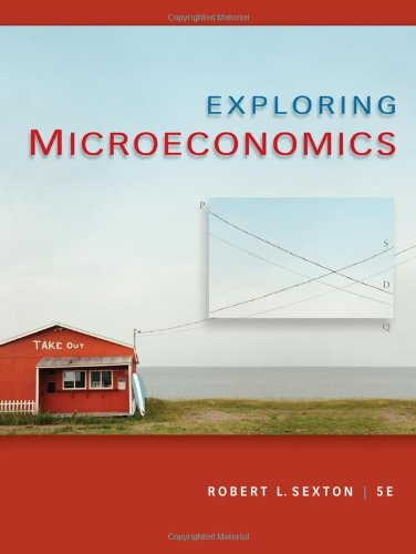 9781439040508: Exploring Microeconomics (Available Titles CourseMate)