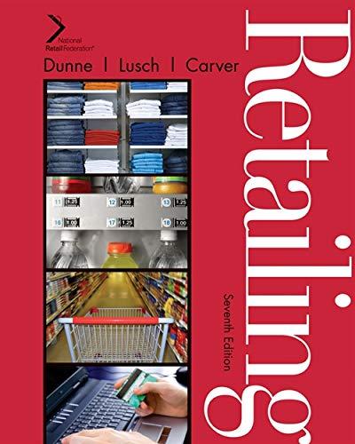 Retailing: James R. Carver;