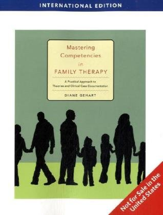 9781439040904: Mastering Competencies in Family Therapy