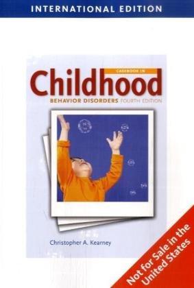 9781439041468: Casebook in Child Behavior Disorders