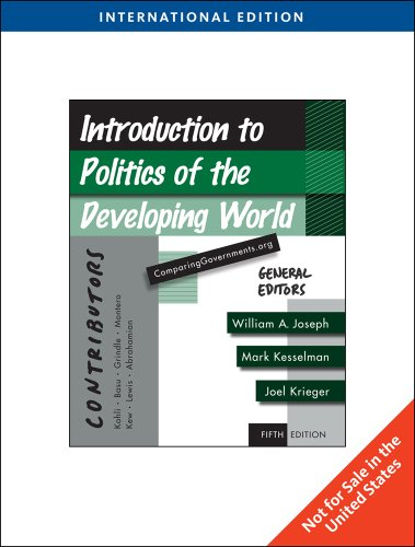 9781439041505: Introduction to Politics of the Developing World