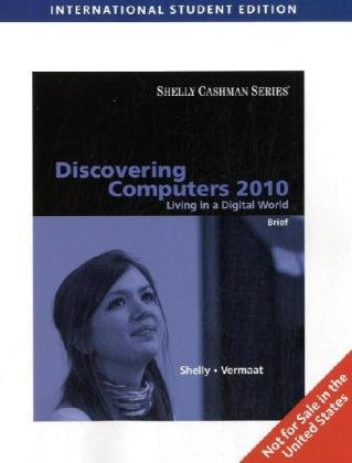9781439041987: Discovering Computers 2010: Living in a Digital World Brief