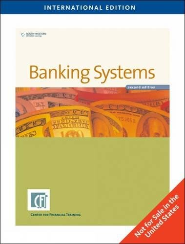 9781439042069: Banking Systems 2Nd Ed.